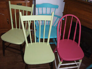 PRETTY COTTAGE CHAIRS FOR SALE!