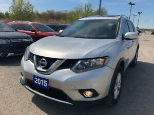 2015 Nissan Rogue SL Wagon/AWD/Duble Sunroof $14899/Low Millage