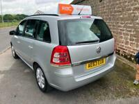 2013 Vauxhall Zafira 1.6i [115] Exclusiv 5dr MPV Petrol Manual