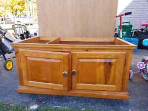 Great Wall unit and it's solid wood !! Kitchener / Waterloo Kitchener Area image 2
