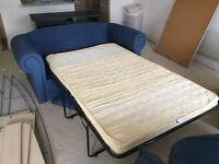 Large 2 seater sofa bed for sale great condition fabric