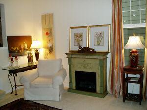 Beautiful Ventless Gel Fireplace
