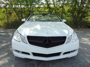 2011 MERCEDES-BENZ E350 CABRIOLET, NAVI, FULLY LOADED,ONE OWNER!