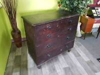 20% OFF ALL IN STORE ITEMS* Pine Chest Of Drawers For Restortion Project -Can Deliver For £19