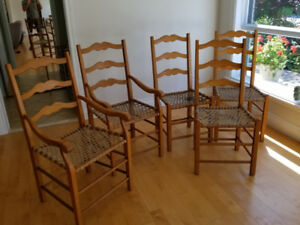 Chaises canadiennes