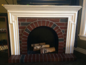 Faux Fireplace- price dropped