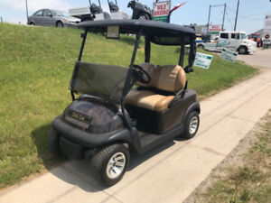 2017 Espresso Club Car Precedent Electric Golf Cart