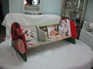 LADY BUG  Child's  Book Bench Cambridge Kitchener Area image 2