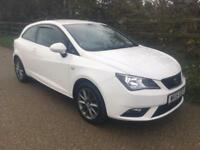 2015 15 Seat Ibiza 1.2 TSI 105PS Sport Coupe 2015MY I-TECH Sat Nav 1 Owner