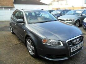 AUDI A4 2.0TDI 2005 S LINE COMPLETE WITH M.O.T HPI CLEAR INC WARRANTY