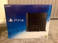 Sony Playstation 4 500 GB New Condition with 2x original controllers & top games