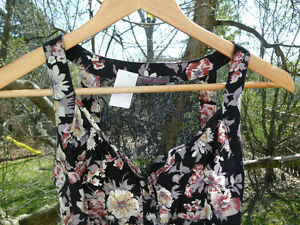 Flowered Dress with Lace Back London Ontario image 2