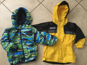 3T Columbia Spring Jackets