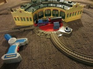 Thomas and friends trackmaster and pack and play.