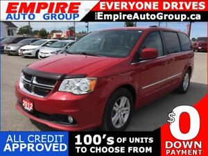 2012 DODGE GRAND CARAVAN CREW * POWER GROUP * SATELLITE RADIO SY