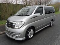 2005 Nissan Elgrand 2500 V6 RIDER S 8 SEATER 5dr