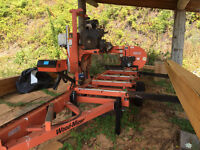 2007 Woodmizer LT 40 Manual Sawmill