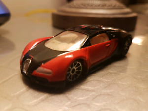 Hot wheels Bugatti Veyron red loose