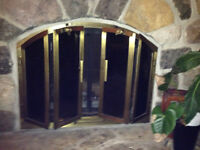 Fireplace doors - Delivery Included to greater Montreal