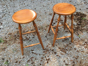 Hand Made Wooden Stools