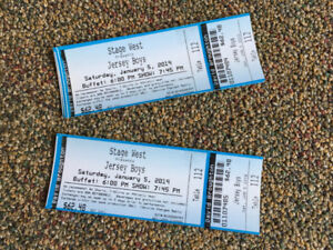 2 Stage West Tickets (2 For 1 Tickets)