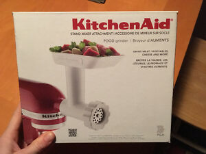 Kitchen Aid Food Grinder Attachment