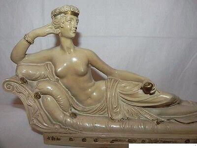 alte Griechische Gips ? Skulptur Figur Alabaster ? Skulpturen Frauen Akt