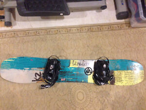 K2 highlite snowboard for sale - brand new condition size 148 Kitchener / Waterloo Kitchener Area image 2