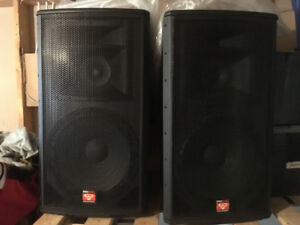 For Sale:Speakers, Power Amps & Lighting in Excellent Condition