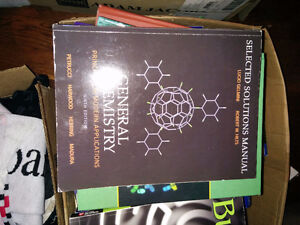 Chemistry Petrucci 9th textbook + solutions manual + chemlab