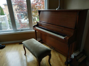 Evans brother upright piano