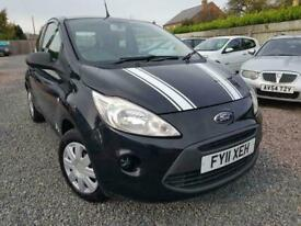 2011 Ford KA 1.3 Studio 30 road tax Manual Hatchback Petrol Manual