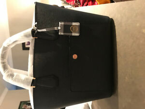 Michael Kors - Brand New in bag with tag - black leather tote