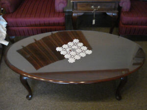 Gibbard Solid Mahogany Coffee and End/Lamp Tables