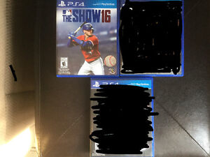MLB the Show 16 a vendre ou echange