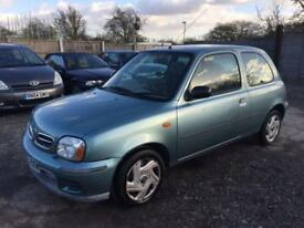NISSAN MICRA 2001 1.0 CVT MY S PETROL - AUTOMATIC - LOW MILEAGE