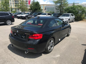 VERY RARE!!  2018 BMW M240i xDRIVE COUPE - BLACK ON RED!!