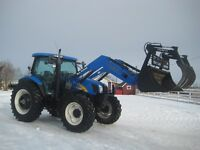 2007 New Holland TS115A Front Wheel Assist Loader Tractor