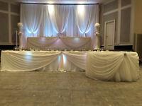 Toronto Wedding Decoration - Backdrops, Centerpieces, Flowers