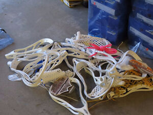 Lacrosse Sticks, Shafts and Heads