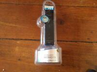Black wireless Wii remote controller