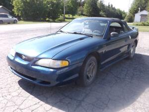 Mustang décapotable 1998