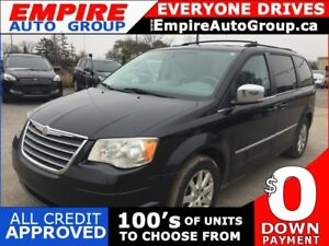 2010 CHRYSLER TOWN & COUNTRY LIMITED * 4.0L * DVD * SUNROOF * SA