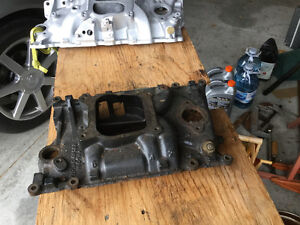 4 barrel intake manifold for 4.3 V6 Chevrolet