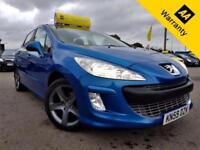 2009 PEUGEOT 308 1.6 SPORT HDI 108 BHP! P/X WELCOME+2 F/KEEPERS+LOW MILES+6SPEED