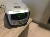Phillips clock radio