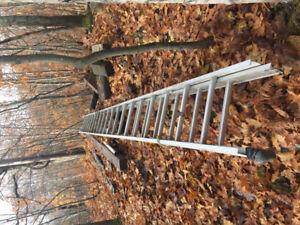 36' Aluminum Extension Ladder.
