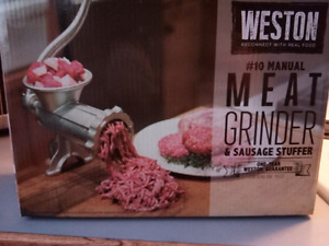 New in box  meat grinder