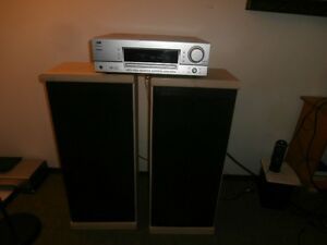jvc 400watt amplifier and set of 400watt speakers