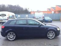 AUDI A3 2.0 DIESEL 170 BHP S LINE,HPI CLEAR,CAMBELT CHANGE FROM AUDI,